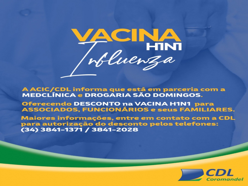 VACINA H1N1 INFLUENZA